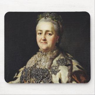 Retrato de Catherine II de Rusia 2 Alfombrillas De Ratón