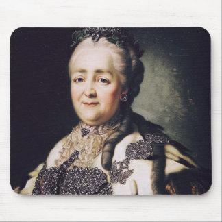 Retrato de Catherine II de Rusia Mouse Pads
