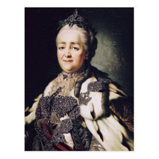 Retrato de Catherine II de Rusia Postales