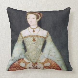Retrato de Catherine Parr (1512-48), 1545 (color Cojin