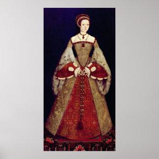 Retrato de Catherine Parr, 1545 Póster