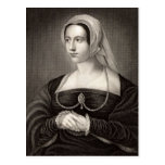 Retrato de Catherine Parr Postal