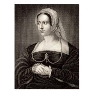 Retrato de Catherine Parr Tarjetas Postales