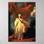 Retrato de Catherine The Great como legislador Posters
