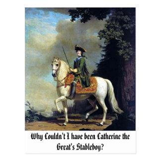 Retrato de Catherine The Great, porqué no podría… Postal