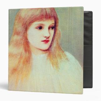 "Retrato de Cecily Horner, 1895 Carpeta 1 1/2"""