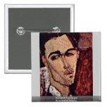 Retrato de Celso Lagar de Modigliani Amedeo Pin