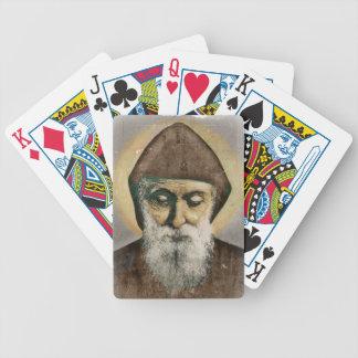 Retrato de Charbel del santo Barajas