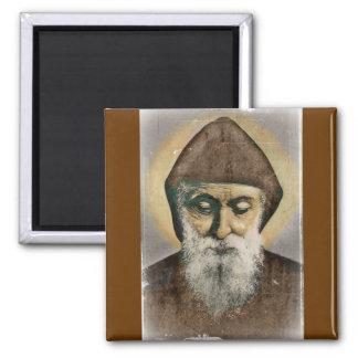 Retrato de Charbel del santo Imán De Frigorifico