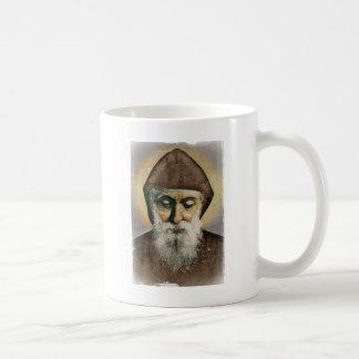 Retrato de Charbel del santo Tazas