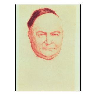 Retrato de Charles Agustín Sainte-Beuve Tarjeta Postal