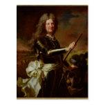 Retrato de Charles-Auguste de Matignon Postal