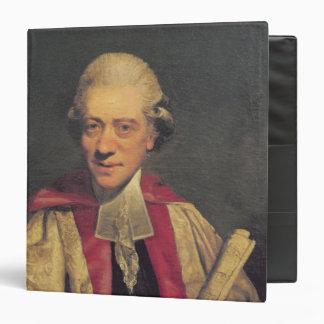 """Retrato de Charles Burney, c.1781 Carpeta 1 1/2"""""""