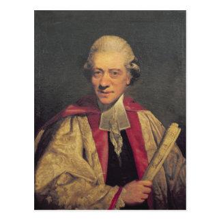 Retrato de Charles Burney, c.1781 Postal
