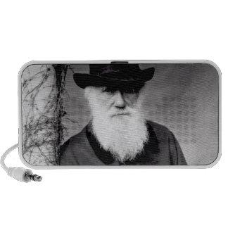 Retrato de Charles Darwin 1881 Laptop Altavoz