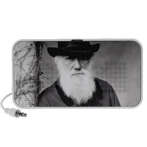 Retrato de Charles Darwin 1881 iPod Altavoces