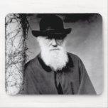 Retrato de Charles Darwin 1881 Tapete De Ratón