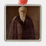 Retrato de Charles Darwin 1883 Ornamento Para Reyes Magos