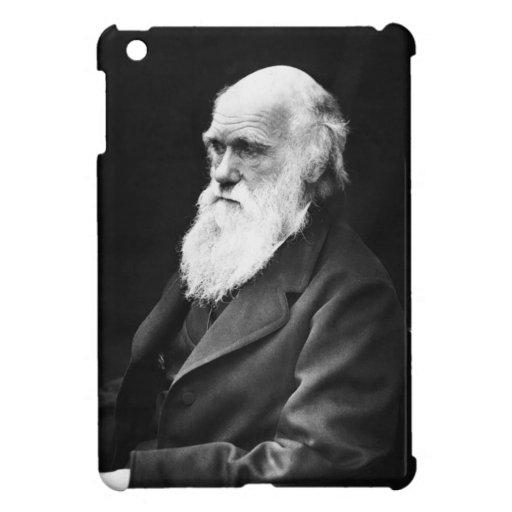 Retrato de Charles Darwin iPad Mini Carcasas