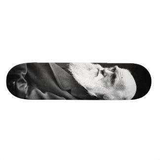 Retrato de Charles Darwin Monopatín