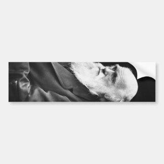 Retrato de Charles Darwin Pegatina Para Auto