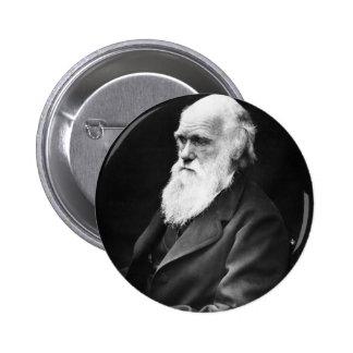Retrato de Charles Darwin Pin
