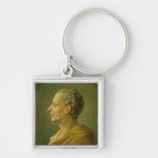 Retrato de Charles de Montesquieu Llaveros