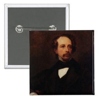 Retrato de Charles Dickens 1855 Pin