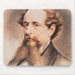 Retrato de Charles Dickens, 1869 Alfombrillas De Raton