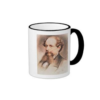 Retrato de Charles Dickens, 1869 Taza De Dos Colores