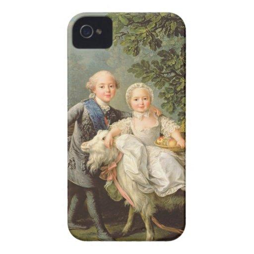 Retrato de Charles Felipe de Francia (1757-1836) Case-Mate iPhone 4 Funda