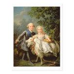 Retrato de Charles Felipe de Francia (1757-1836) Tarjeta Postal