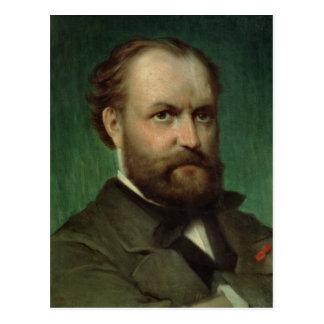 Retrato de Charles Gounod Postal