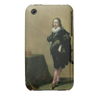 Retrato de Charles I (1600-49) 1632 (aceite en el Funda Para iPhone 3