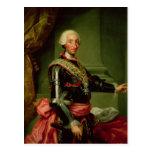 Retrato de Charles III c.1761 Postales