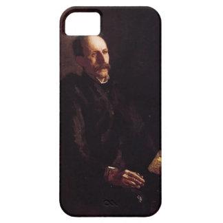 Retrato de Charles Linford de Thomas Eakins iPhone 5 Fundas