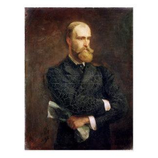 Retrato de Charles Stewart Parnell 1892 Postal