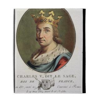 """Retrato de Charles V, llamado """""""" el rey sabio de F"""