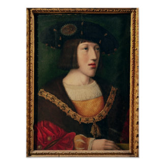 Retrato de Charles V Impresiones