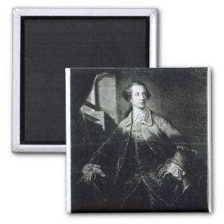 Retrato de Charles Watson-Wentworth Imanes De Nevera