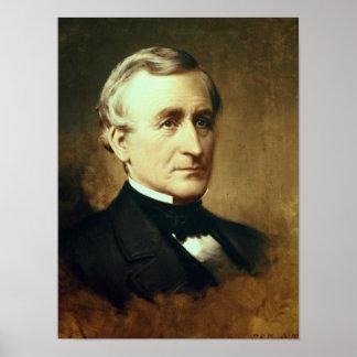 Retrato de Charles Wilkes 1870 Posters