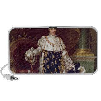 Retrato de Charles X en trajes de la coronación, 1 Portátil Altavoces