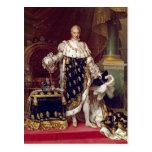 Retrato de Charles X en trajes de la coronación, 1 Postales