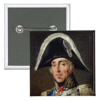 Retrato de Charles X Pin Cuadrado