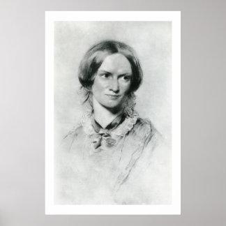 Retrato de Charlotte Brontë de George Richmond Poster