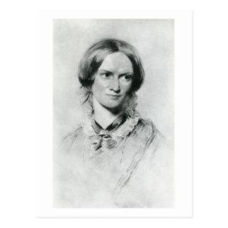 Retrato de Charlotte Brontë de George Richmond Tarjetas Postales