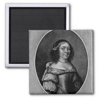 Retrato de Charlotte, condesa de Derby Imán De Frigorífico