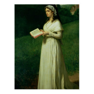 Retrato de Charlotte Corday Postal