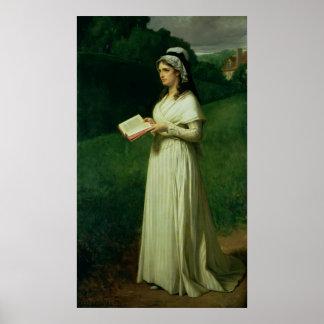 Retrato de Charlotte Corday Póster