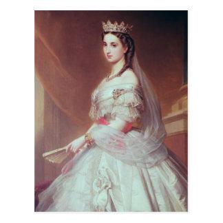 Retrato de Charlotte de Saxe-Cobourg-Gotha Postales
